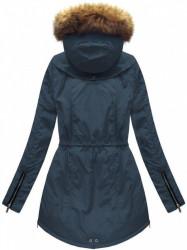 Dámska zimná bunda 7308, modra