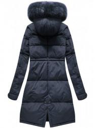 Dámska zimná bunda 7752BIG, modrá