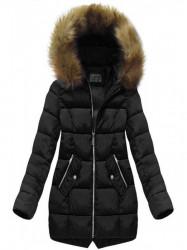 Dámska zimná bunda B1050-30, čierna