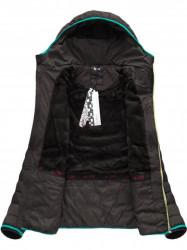 Dámska zimná bunda CX586W, čierno-morská