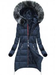 Dámska zimná bunda - modrá (GWW1716)
