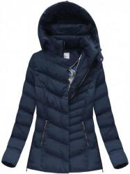 Dámska zimná bunda W583, modrá #1