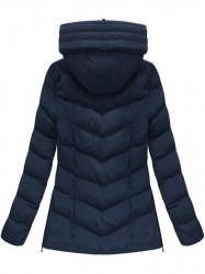Dámska zimná bunda W583, modrá #2