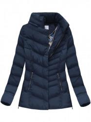 Dámska zimná bunda W583, modrá #3