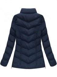 Dámska zimná bunda W583, modrá #4