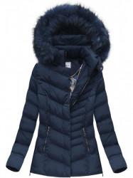 Dámska zimná bunda W583, modrá #5