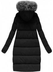 Dámska zimná oversize bunda (718), čierna