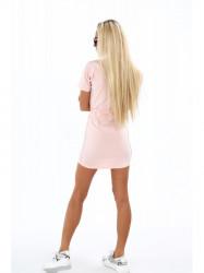 Dámske bavlnené šaty 4191, ružové #2