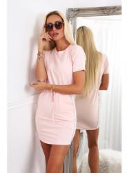 Dámske bavlnené šaty 4191, ružové #5