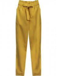 Dámske chino nohavice 295ART, horčicové