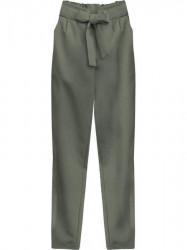 Dámske chino nohavice 295ART, khaki
