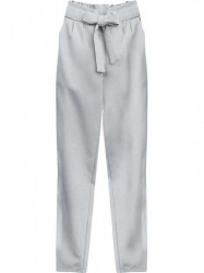 Dámske chino nohavice 295ART, sivé