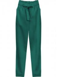 Dámske chino nohavice 295ART, zelené