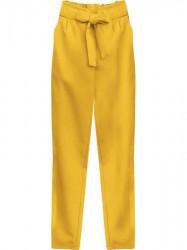 Dámske chino nohavice 295ART, žlté