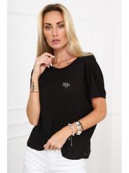 Dámske čierne tričko MP15705