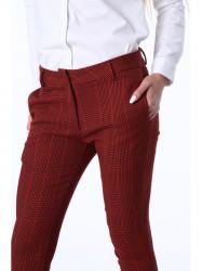 Dámske elegantné nohavice MP443969, oranžové