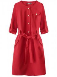 Dámske elegantné šaty 273ART, červené