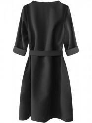 Dámske elegantné šaty 273ART, čierne