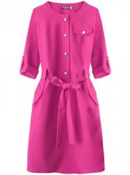 Dámske elegantné šaty 273ART, ružové