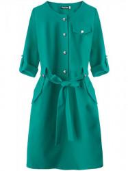 Dámske elegantné šaty 273ART, zelené