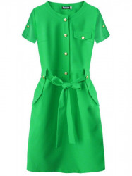 Dámske elegantné šaty 309ART, zelené