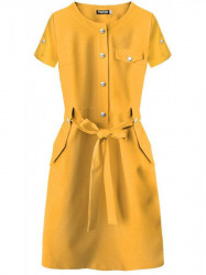 Dámske elegantné šaty 309ART, žlté