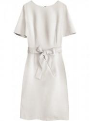 Dámske elegantné šaty 313ART, béžové
