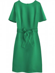 Dámske elegantné šaty 313ART, zelené