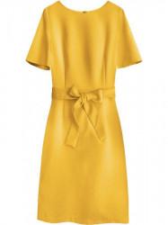 Dámske elegantné šaty 313ART, žlté