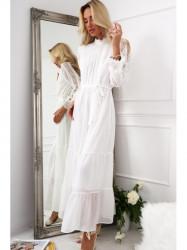 Dámske krémové šaty 4186