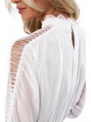 Dámske krémové šaty 4186 #2