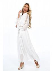 Dámske krémové šaty 4186 #3