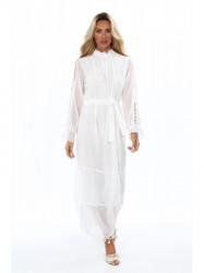 Dámske krémové šaty 4186 #4