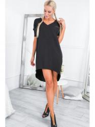 Dámske oversize šaty 3753, čierne