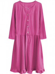 Dámské oversized šaty 305ART, ružové