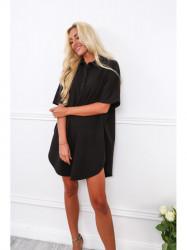 Dámske oversized šaty 4154, čierne