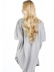 Dámske oversized šaty 4154, svetlo sivé #5