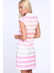 7b98f8181338 Biele letné šaty TA6167. 27.78€. Dámske polo šaty 7575