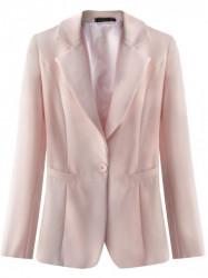 Dámske púdrovo ružové elegantné sako 6783
