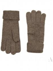 Dámske rukavice Ufa hnedé