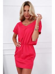 Dámske ružové šaty 0294