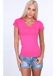 e7d5cb2d2705 Dámske ružové tričko 2310