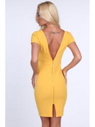 Dámske šaty 1772, žlté