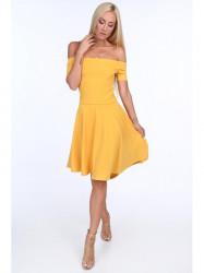 Dámske šaty 1780, žlté