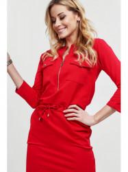 Dámske šaty 2041, červené