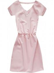 Dámske šaty 90ART, svetlo ružové