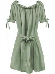 Dámske šaty v španielskom štýle 279ART, khaki