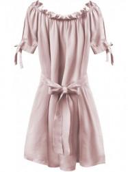 Dámske šaty v španielskom štýle 279ART, ružové