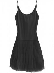 Dámske tylové šaty 2238 čierne