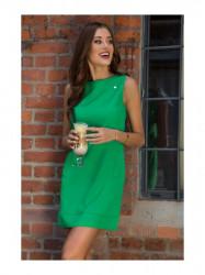 Dámske zelené elegantné šaty 0341